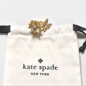 Kate spade flower ring